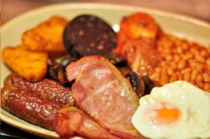 Our Infamous Full English Breakfast